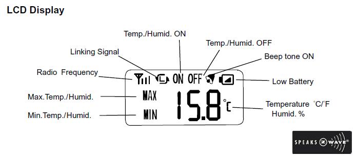configuration du capteur temp rature humidit st814 ma domotique. Black Bedroom Furniture Sets. Home Design Ideas